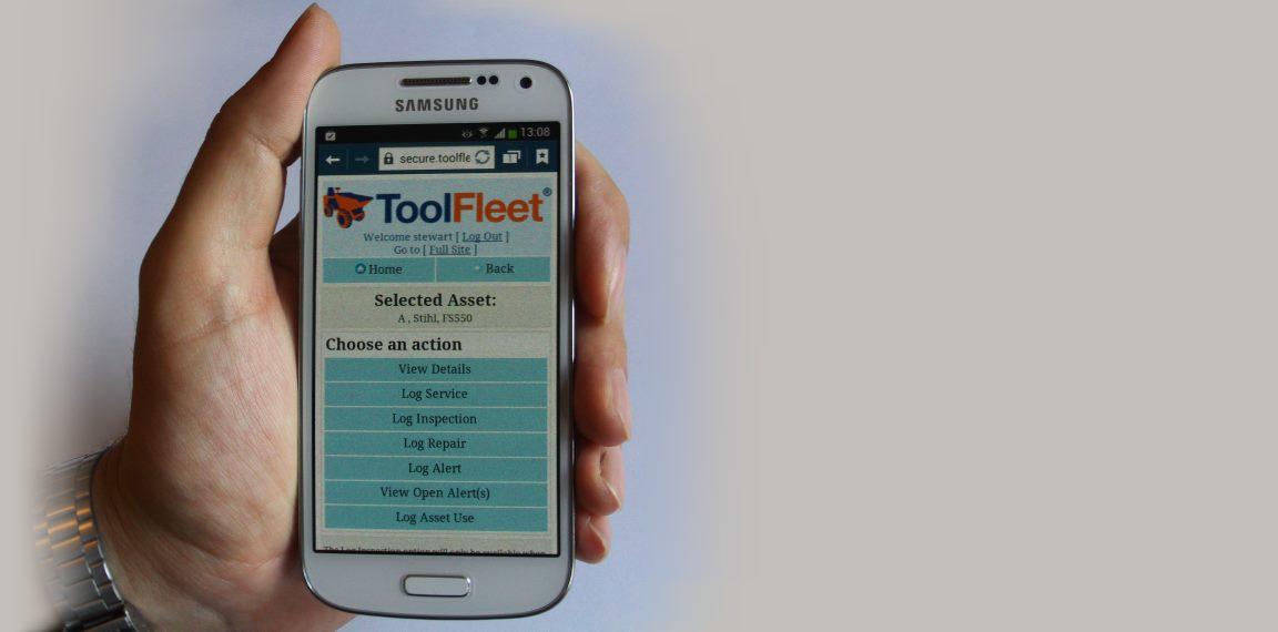 ToolFleet mobile PDA app online
